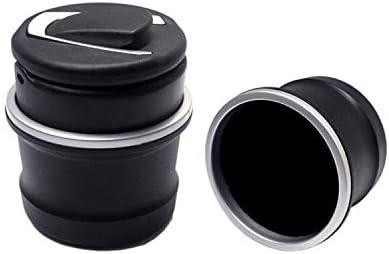 ポータブルで掃除が簡単 特別な車の灰皿 車、オフィス、家、バー、宴会、その他の機会に適しています (Color : Black)