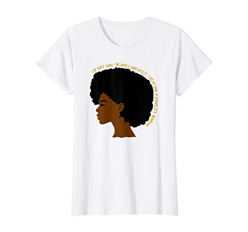 Womens I'm Not God Woman's Hebrew Israelite T-Shirt 12 Tribes Yah