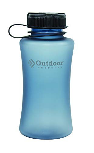 Outdoor Products Cyclone Water Bottle, 1-Liter, Blue