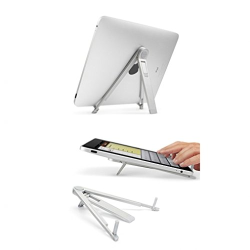 8 G9 Pedestal (Compass Portable Travel Folding Tablet Stand Desktop Fold-up Holder for iPad Pro 9.7 - Archos 80 G9 Turbo (8) - Archos 10.1 G9 Turbo - Archos 101 G9 (10.1))