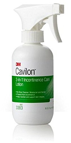 3M Healthcare Cavilon 3-in-1 Incontinence Care Lotion 8Oz, pH-balanced, No-rinse (Bottle of 8 Ounces)