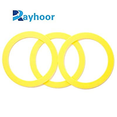 Rayhoor 2 PACK of Kohler-Compatible Canister Flush Valve Seal Replacements For Toilets Replaces K-GP1059291