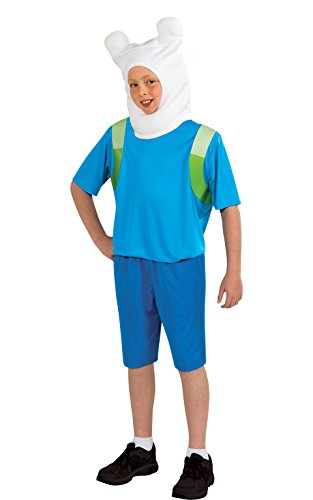 Adventure Time Child's Finn Costume, (Adventures Costumes)