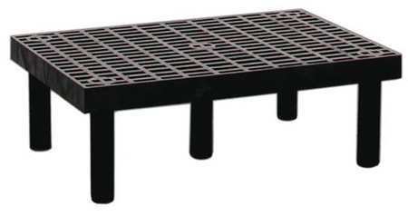 Structural Plastics Modular Dunnage Rack - 36X24x12'' - Ventilated Top