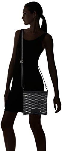Fritzi aus Preußen Damen Honoria Business Tasche, 3x27x26 cm Schwarz (Black)