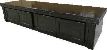 R&J Enterprises ARJ40500 Xtreme Series Oak Wood Aquarium Canopy, 72 by 18-Inch, Black by R&J Enterprises