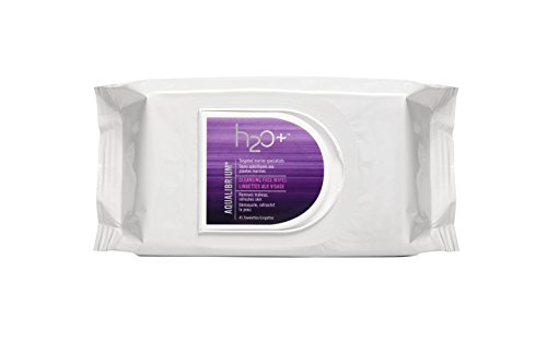 H2O+ Aqualibrium Face Cleansing Wipes, 45 Count