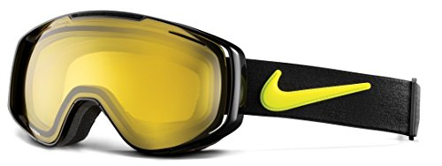 Nike Khyber Ski Goggles, Transitions Yellow, Black - Ski Nike Goggles