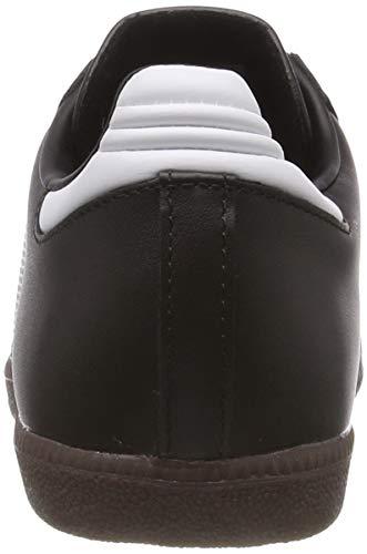 adulto 19000 Adidas Samba blanc Scarpe Sportive Noir Unisex xZ4qXZvw