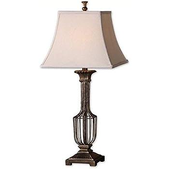 Amazon.com: Uttermost BRAZORIA lámpara de mesa – 31h en ...