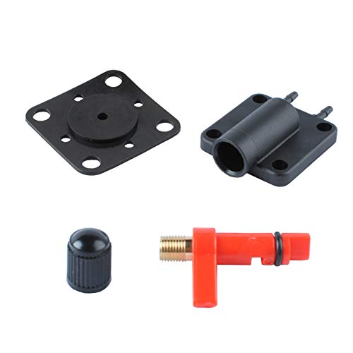 (18-7044 Primer Solenoid Service Maintenance Valve Kit for Johnson Evinrude Sierra 18-7044 OMC 175158, The Service Valve Cover & Gasket Replaces for 437228 by Ketofa )