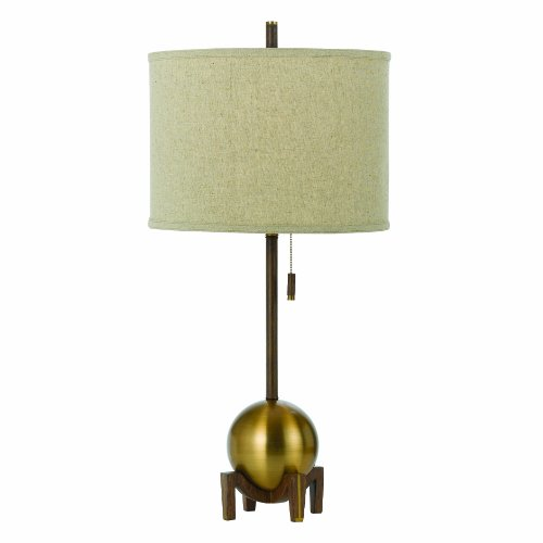 Horizon 8251-TL Gravity Table Lamp, Satin Brass (Lamp Table Nickel Walnut)