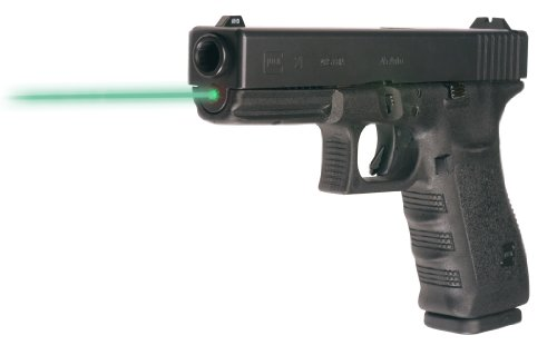 LaserMax Guide Rod Green Laser Sight for GLOCK 20 21 20SF 21SF Pistols, Black - LMS-1151G