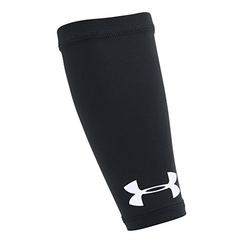 Under Armour Boys' Gameday Armour Forearm Shiver, Black/White, One Size ()