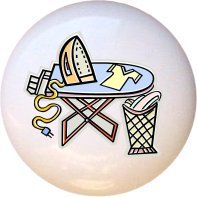 Ceramic Knob - Design #181176 Iron Press Ironing Board - Lau
