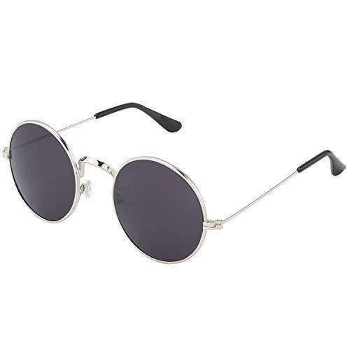a72e008057 Silver Kartz Classic Round Unisex Sunglasses (wy137