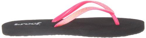 Reef STARGAZER Damen Zehentrenner, Rose (Neon Pink), 42.5 EU