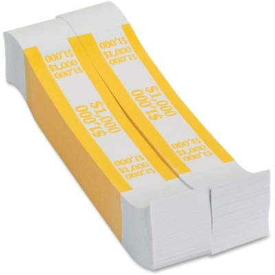 Coin-Tainer Company – Self-Adhesive Currency Straps