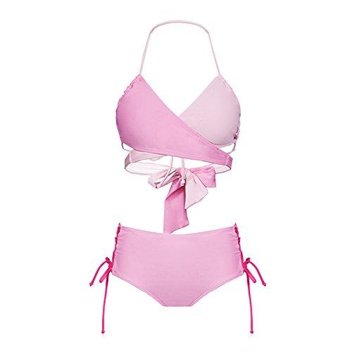 YUPE Hot spring Badeanzug Dreieckige hohe Taille bikini Fashion Girls Freizeitaktivitäten