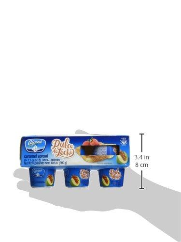 Amazon.com : Alpina Spread, Crml, Dulce Ce Lech, 1.75-Ounce (Pack of 6) : Sandwich Spreads : Grocery & Gourmet Food