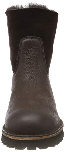 Marron 3037 Bottes Brown Femme Dark Souples Shabbies Shs0290 Amsterdam nZ6q4PT