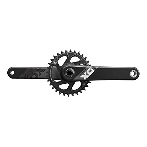 SRAM Bielas X01 Eagle BB30 170 12-Speed W 32T X-Sync Direct Mount Anillo Cadena – Negro 00.6118.438.002
