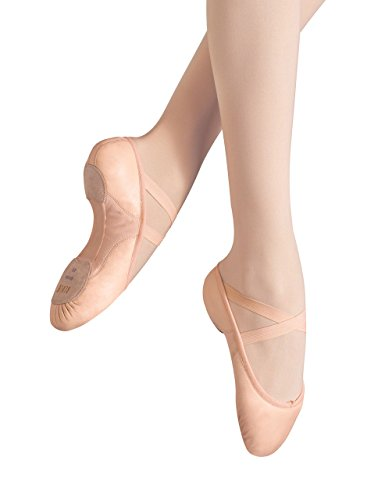 Bloch Women's Proflex Leather Dance Shoe, Pink Pink