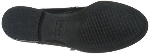 Bella Vita Reese barco de la mujer zapatos Black/Grey Flannel