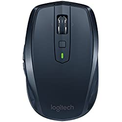 Logitech MX Anywhere 2 Wireless Mobile Mouse, Long Range Wireless Mouse, Navy (910-004967)