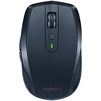 Logitech MX Anywhere 2 Wireless Mobile Mouse, Long Range Wireless Mouse with Hyper Scroll and Easy-Switch up to 3 Devices – Navy