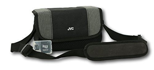 JVC Camcorder Bag with 2GB Micro SD Card and Adapter