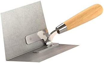 Bon Tool Co. 13-149 Angle Plow, Stainless Steel 90 Degree, Wood Handle