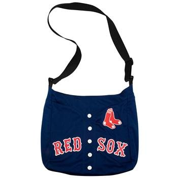 MLB Boston Red Sox Navy Blue Veteran Jersey Tote Bag ()