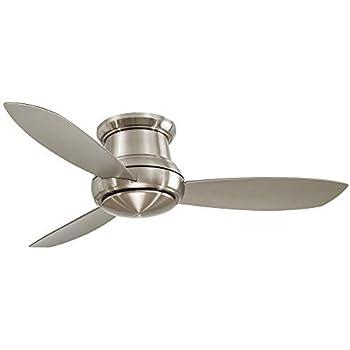 Minka Aire F519l Bn Concept Ii Led Brushed Nickel 52