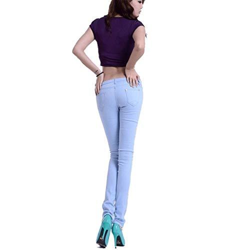 Fianchi 1 Con Pantaloni Donna Da Slim Rxf Jeans Estivi Sottili fx1fqvg