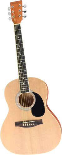 Intermediate Bluegrass Jam - Spectrum AIL 36K Student Size 36-Inch Acoustic Guitar with Award eMedia Lessons