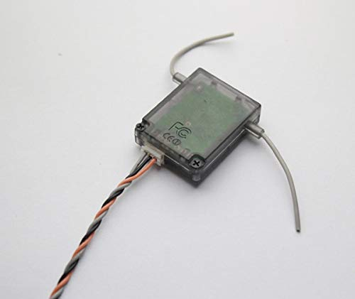 Yoton Accessories DSN2 AR6200 6ch Receiver 2.4ghz Receiver for JR DX7 SPMAR6200 Channel - (Color: DSM2 Satellite)