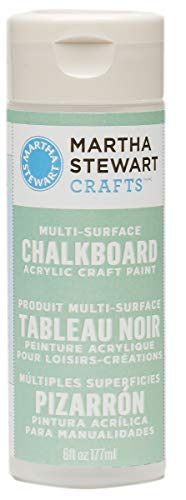 Martha Stewart Crafts Martha Stewart Multi-Surface Chalkboard Green, 6 oz Paint, -