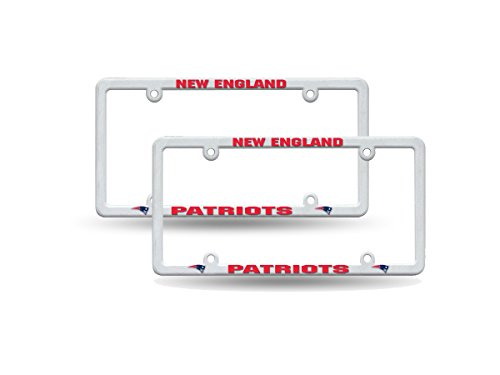 England Patriots Raised Plastic License product image