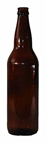 Monster Brew Home Brewing Supp Amber Beer Bottles (12 Pack), 22 oz