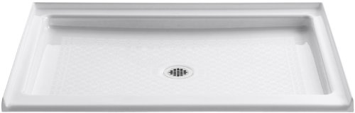 KOHLER K-9025-0 Kathryn Shower Base 5.25 x 48.00 x 36.00 inches White