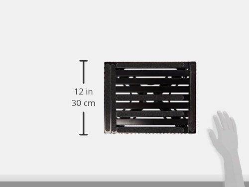 Safety Step S-07C-BLK Black 11 X 14 Small Folding Step