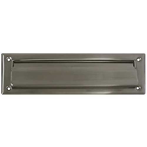 National Hardware N325-290 V1911 Mail Slot in Nickel , 2'' x 11'' by National (Image #1)