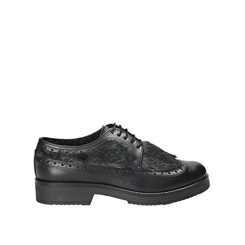 Mujeres Negro 4665sa Zapatos Mally Casual 38 aIFvnS