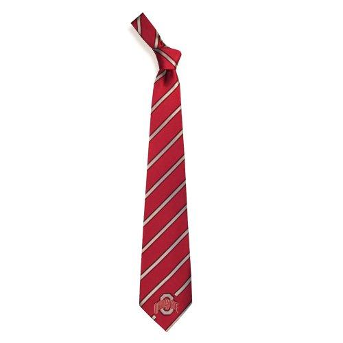 Ohio State Buckeyes Collegiate Woven Polyester Necktie