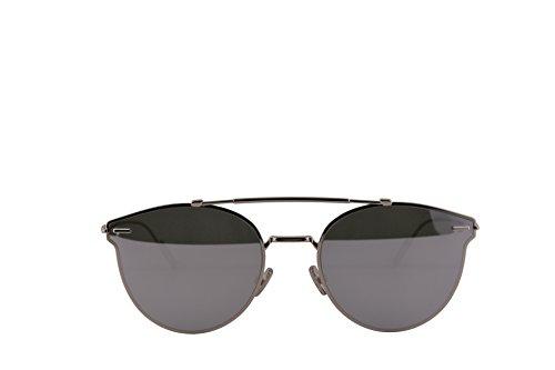 Christian Dior Homme DiorPressure Sunglasses Palladium w/Grey Silver Mirror Lens 57mm 0100T Dior Pressure Dior Pressure/S DiorPressure/S