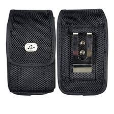 FIT WITH OTTERBOX DEFENDER on it Heavy Duty Vertical Rugged Canvas Holster Case For Sprint Blackberry Bold 9930 8830 Curve (Blackberry 8350i Holster)