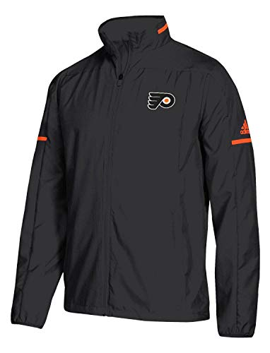adidas Philadelphia Flyers NHL Men's Penalty Box Full Zip Rink Jacket ()