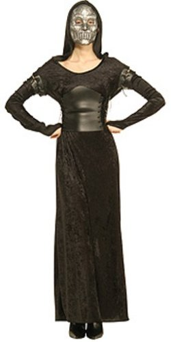 Science Fiction Costumes Female (Harry Potter Adult Female Death Eater Costume)