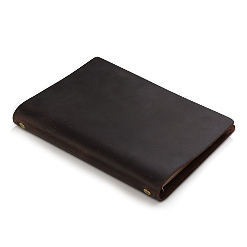 7Felicity Classic Writing Business Notebook,Leather Cover,9